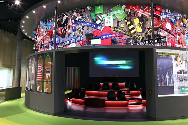 german soccer museum –  bundesliga carousel