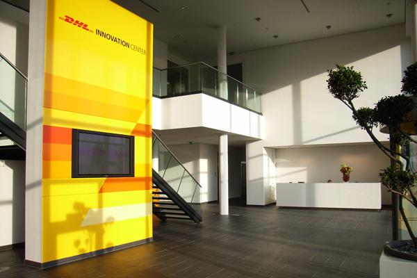 dhl innovation center – foyer