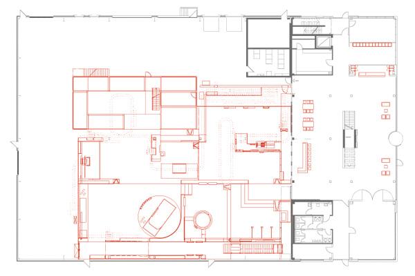 dhl innovation center – floor plan