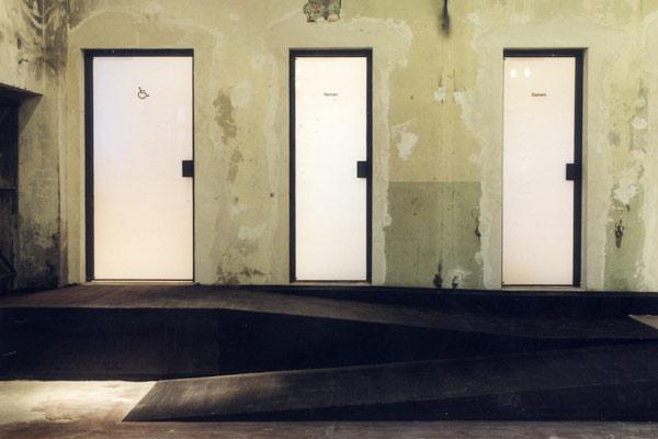 glashütte stralau – detail türen und rampe