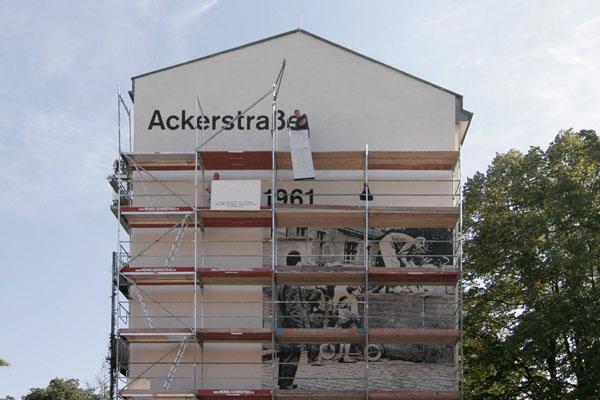 mauergedenkstätte – wandbild ackerstraße