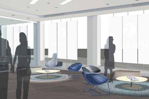 zurich – lounge rendering